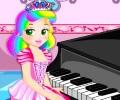 הנסיכה ג'ולייט בשיעור פסנתר